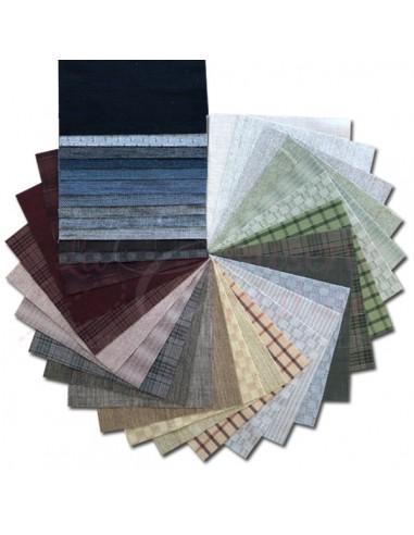 """Lot de 35 Tissus Japonais - Collection """"Ann Lee"""""""