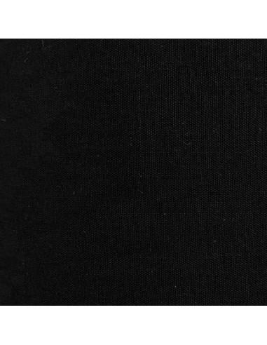 """Tissu 100% Coton """"Jekyll"""" - NOIR"""