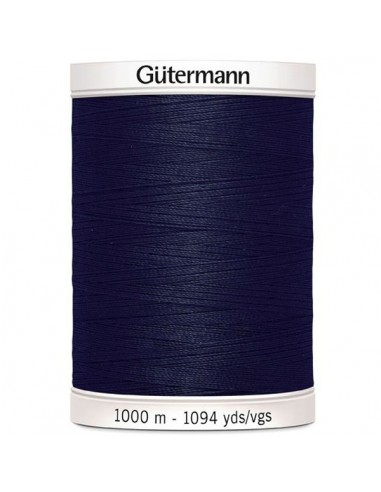 Fil à Coudre 100% polyester 1000m Gütermann - MARINE 339
