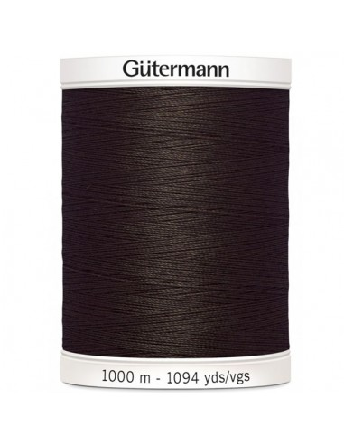 Fil à Coudre 100% polyester 1000m Gütermann - MARRON 696