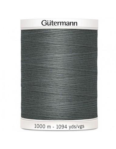 Fil à Coudre 100% polyester 1000m Gütermann - GRIS 701