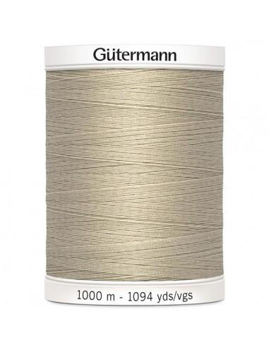 Fil à Coudre 100% polyester 1000m Gütermann - BEIGE 722