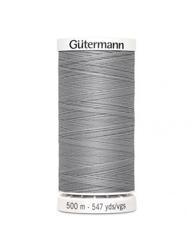 Fil à Coudre 100% polyester 500m Gütermann - GRIS MOYEN 38