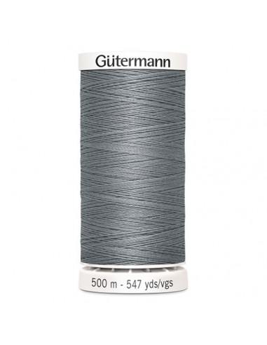 Fil à Coudre 100% polyester 500m Gütermann - GRIS 40