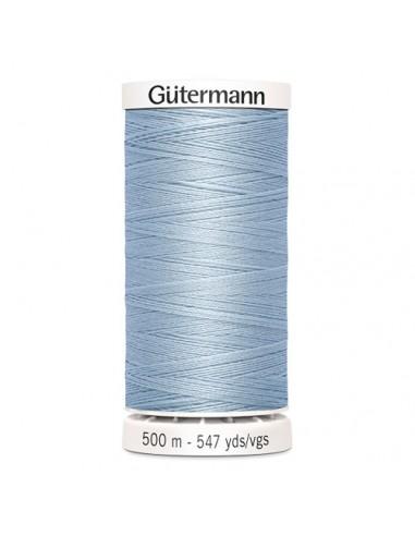 Fil à Coudre 100% polyester 500m Gütermann - BLEU CLAIR 75