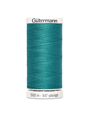 Fil à Coudre 100% polyester 500m Gütermann - TURQUOISE 107
