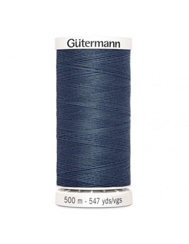 Fil à Coudre 100% polyester 500m Gütermann - BLEU JEAN 112