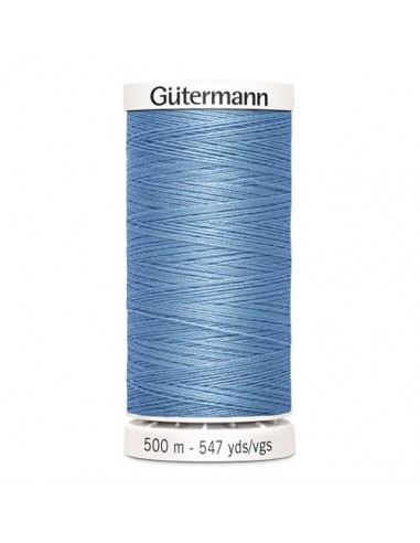 Fil à Coudre 100% polyester 500m Gütermann - BLEU 143