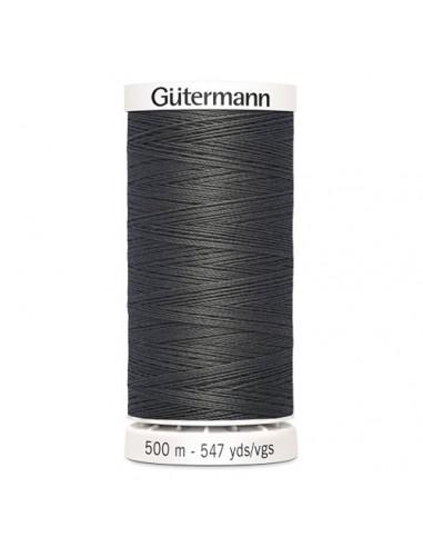 Fil à Coudre 100% polyester 500m Gütermann - GRIS ANTHRACiTE 702