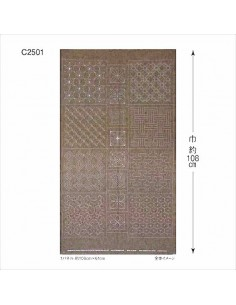Toile Aïda Blanche 100% Coton - 5.5 points/cm